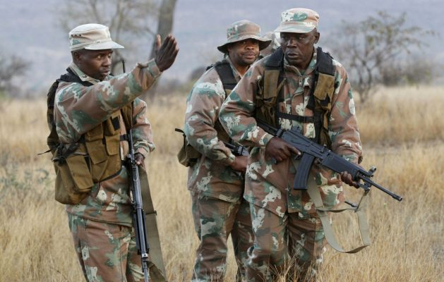 south african soldiers