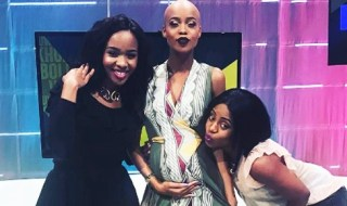 SA Presenter, Ntando Duma's Baby Bump Makes Its TV Debut
