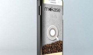 Phone that produce coffee
