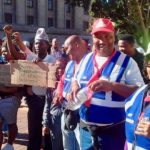 Bakkie Drivers Protest Against Law Banning Lifts To Learners