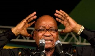 Youth Chant 'Zuma Must Fall'