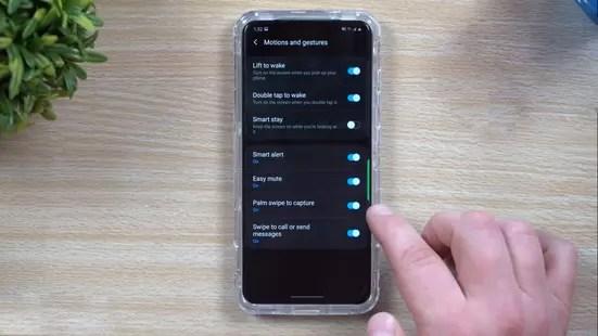 screenshots on samsung