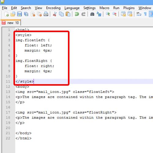 CSS Wrap Text Around Image | HowTech