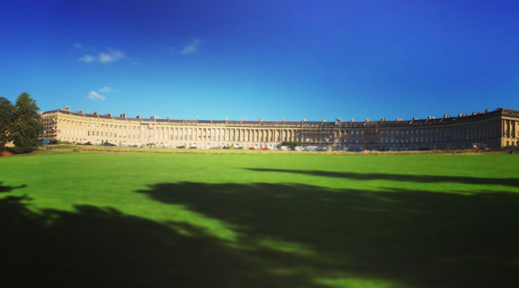Bath walking itinerary HTMW