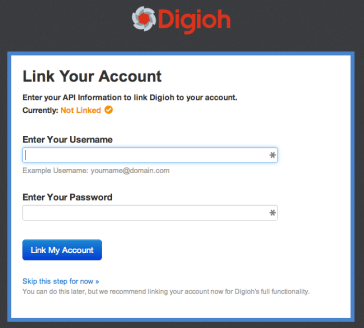 Connect your Digioh and iContact Accounts