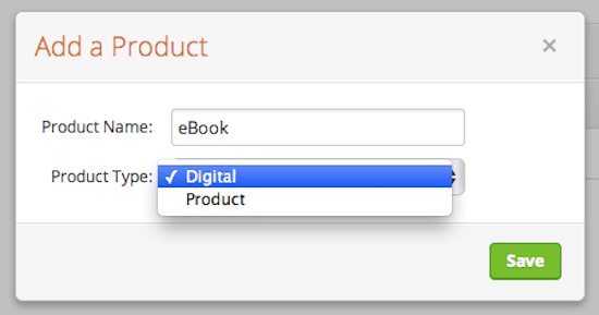 Select Digital product