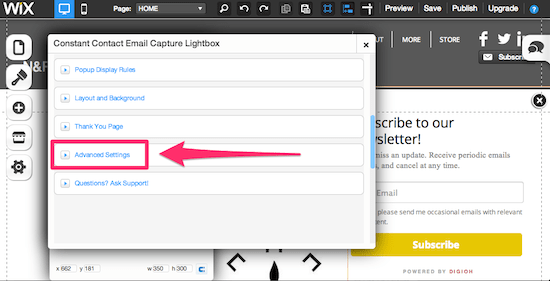 Customize Your Pop-Up with Lightbox advanced settings