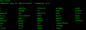 Command Line Support