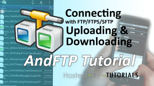 AndFTP Tutorials