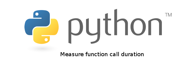 How to measure the duration of a function call or code block in python