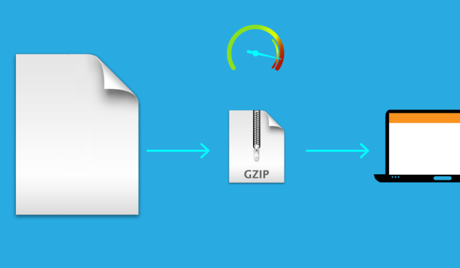 Enable gzip compression to improve website speed