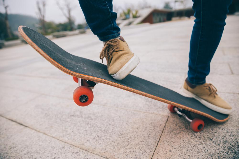 prima placa de skateboard