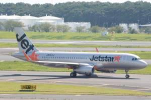 ジェットスターアジア航空機体(出典:Traicy)