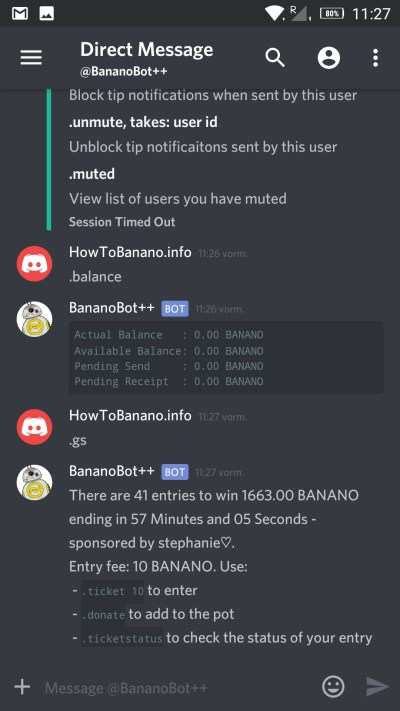 HowToBanano's Banano Discord Getting Started Guide