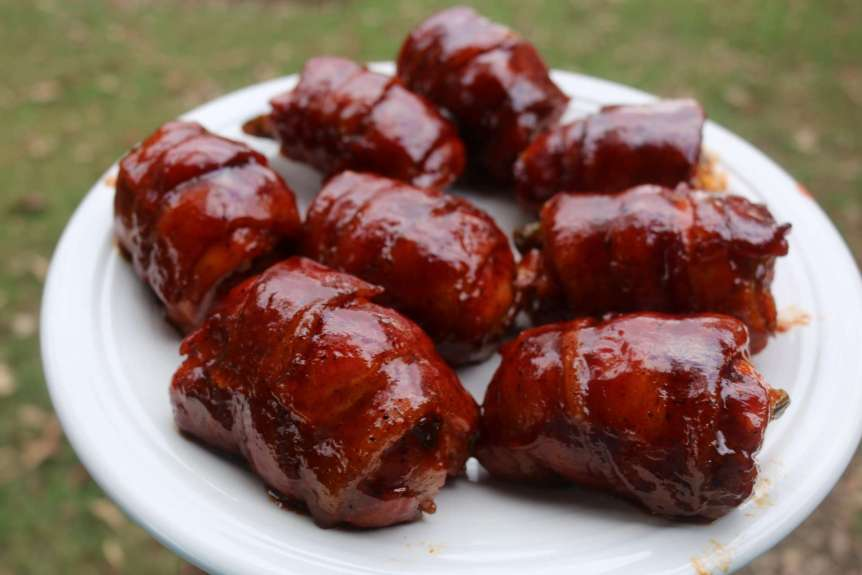 Bacon Wrapped Jalapeno Chicken Thighs Recipe