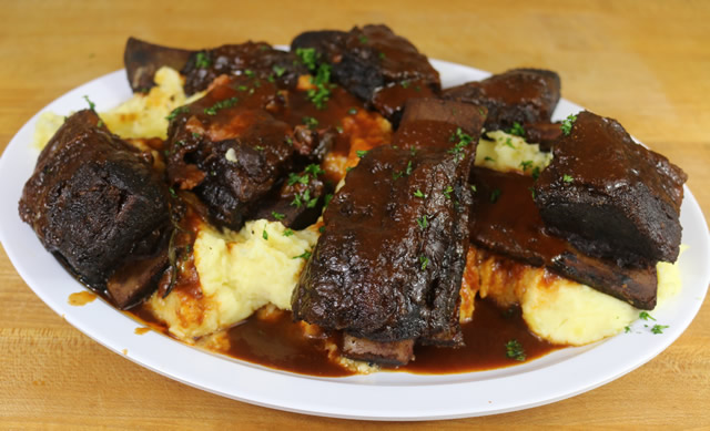 smoked beef short ribs