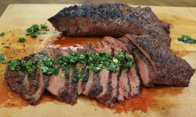 Grilled Tri Tip recipe