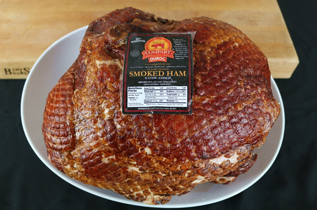 Maple Glazed Whole Smoked Ham