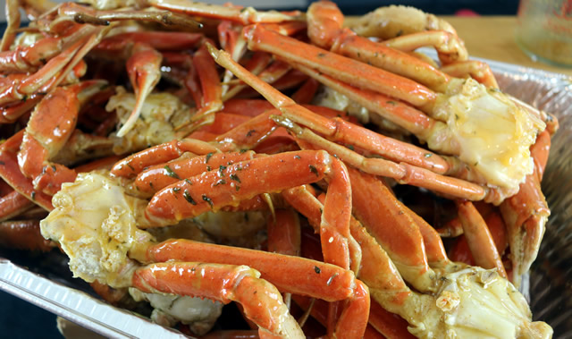 Smoked Crab Legs