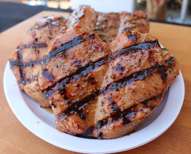 Steakhouse Pork Chops