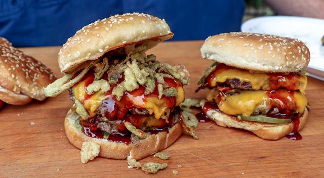 barbecue smash burger