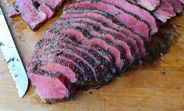 Smoked Brisket Pastrami