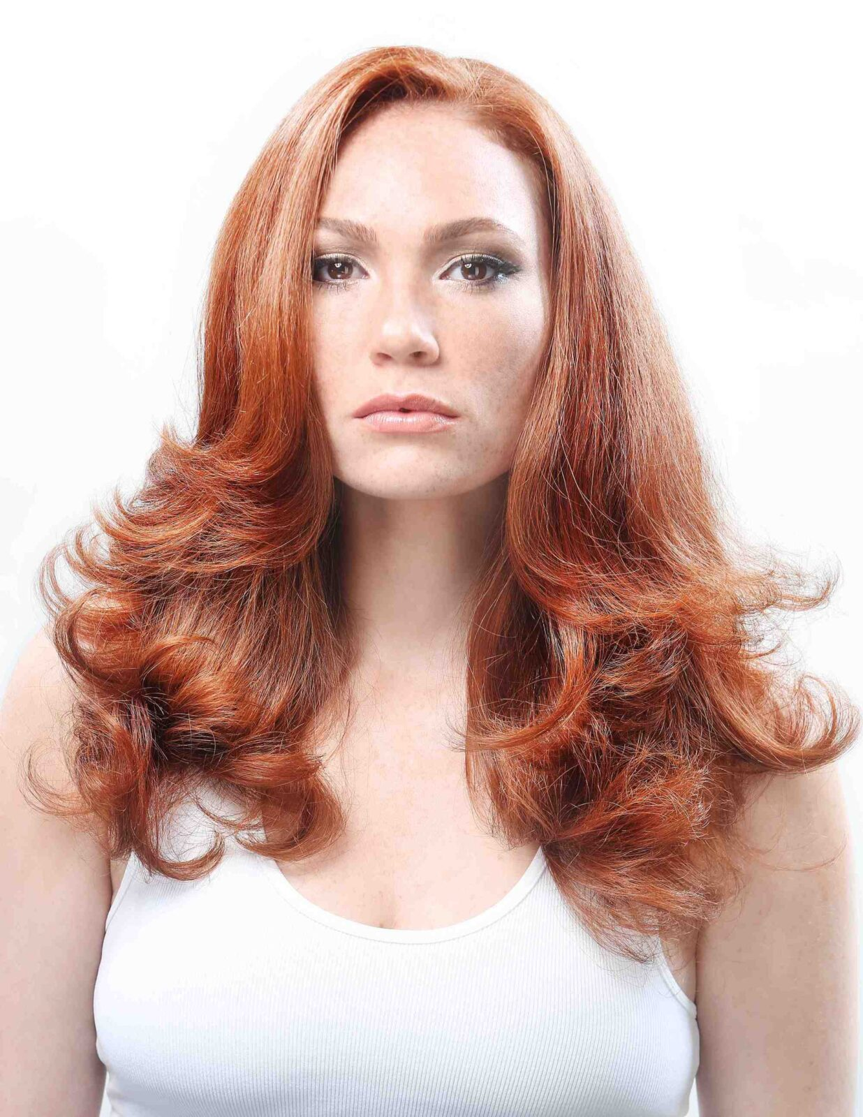 Red Hair Color Based On Your Age