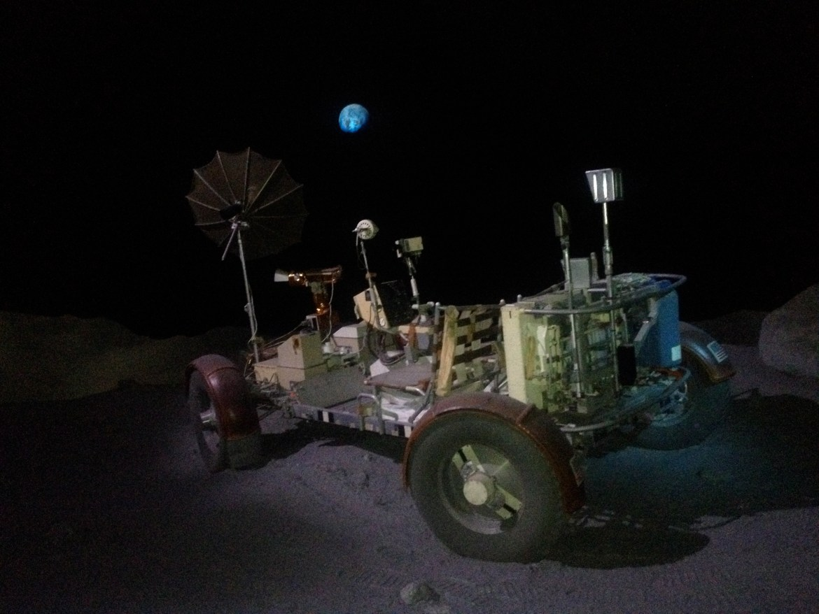 Lunar rover at NASA JSC