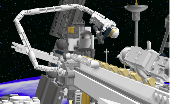 LEGO ISS concept