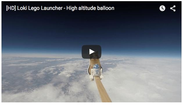 Loki Lego balloon
