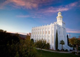 St. George Utah Temple (Visitors Center, 2016)