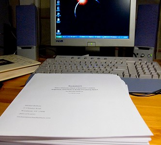 Why Blog a Book? To Make Sure You Complete Your Manuscript (Part 8)