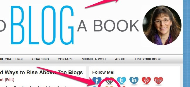 Implement a Way to Effectively Contact Blogged Book Readers