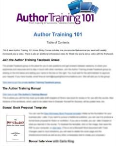 Author Training 101