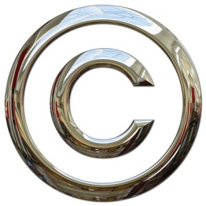 how to copyright blogs