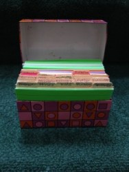 organize a blogged book