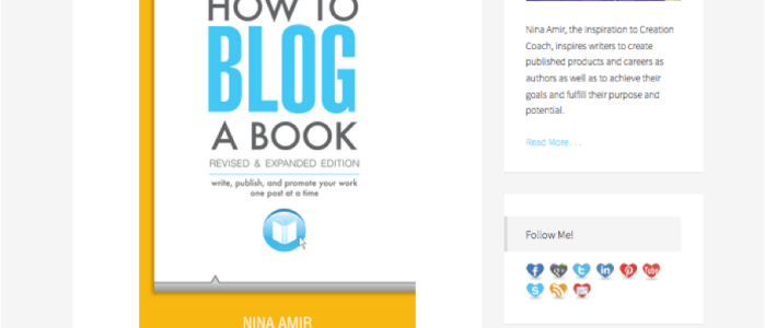 "4 ""Book Page"" Essentials for Your Blog"