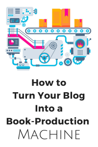 Produce books on your blog