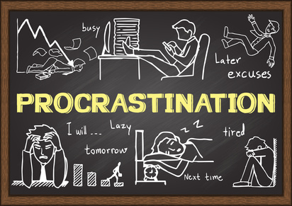 how to write rather than procrastinate