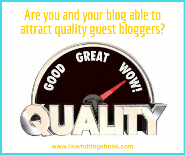 how to attract guest bloggers