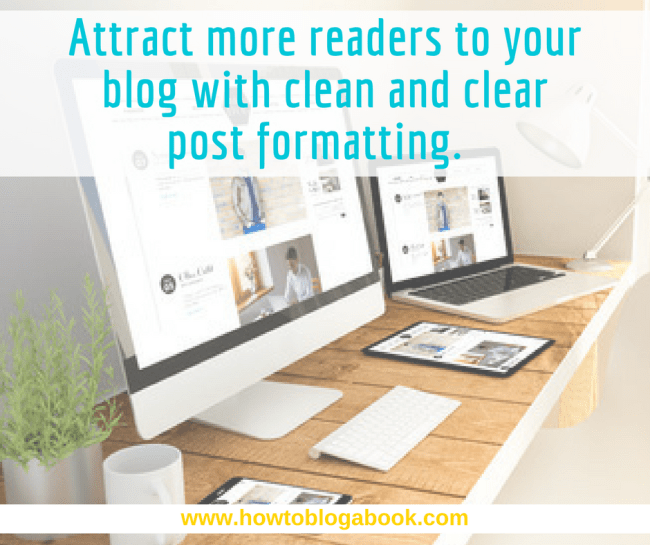 blog post formatting