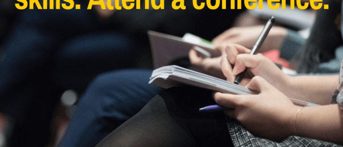 conference to improve blogging, writing, and social media skills