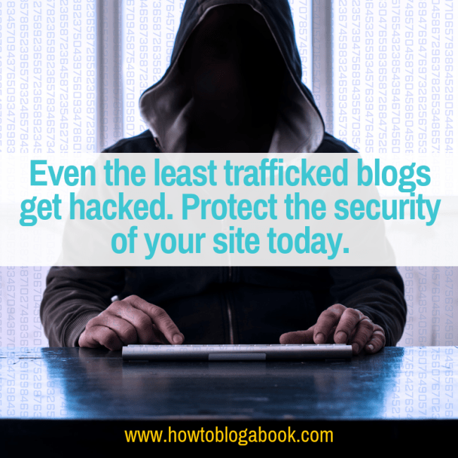 avoid hacked blog