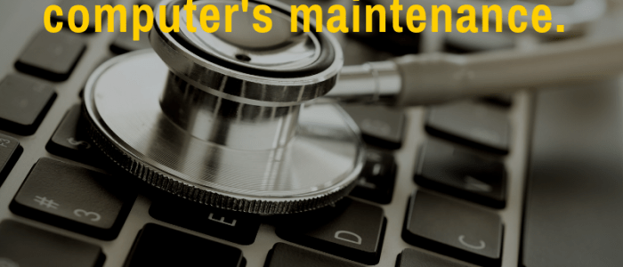 Maintenance Tips to Keep Your Computer (and Blog) Running Smoothly