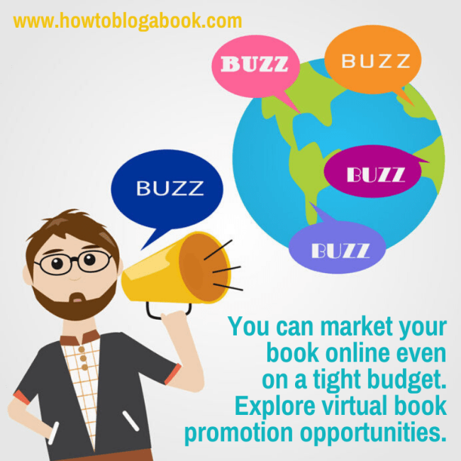 Build book buzz on a tight budget online