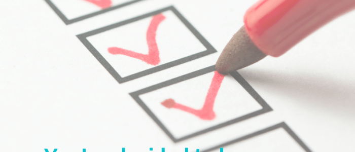 An Essential Checklist for New Bloggers