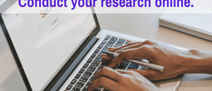 How to Do Effective Writing Project Research at Home