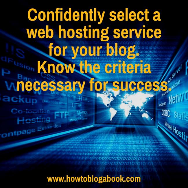 Choose web hosting companh
