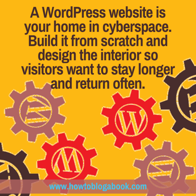 Create your WordPress website and blog