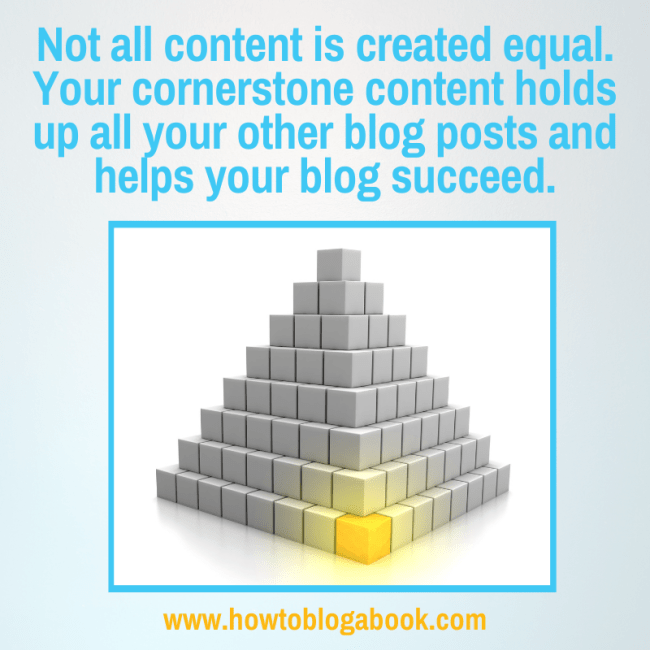 how to create cornerstone content for your blog